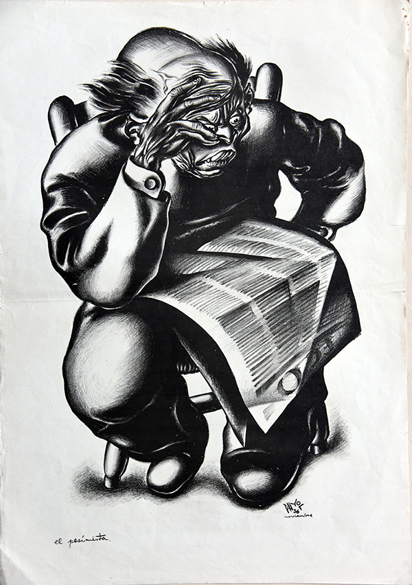 Испанские революционные карикатуры привезут в Одессу