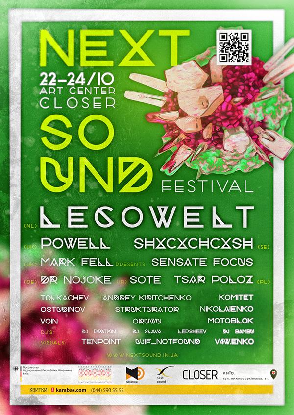 NextSound                                                           Festival                                                           22.-24.October                                                           2015 Caro C