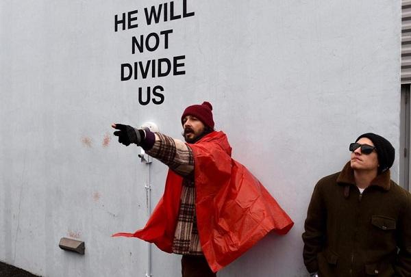 Шаї ЛаБафу довелося відстоювати свою мистецьку акцію проти Трампа