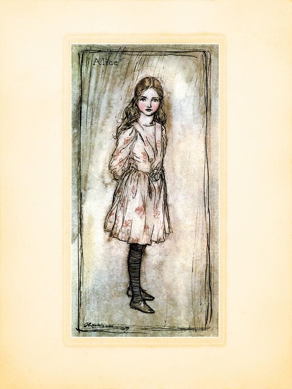 """""""Аліса в Дивокраї"""" з ілюстраціями Артура Раккама: вперше українською"""