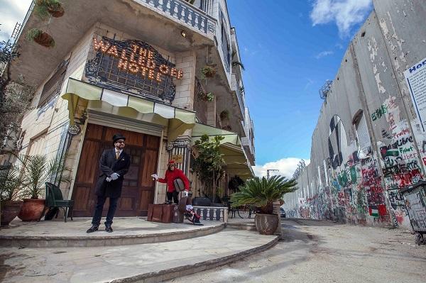 Бенксі відкрив готель у Вифлеємі