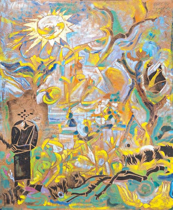 100 років українського мистецтва представлять на аукціоні в Києві
