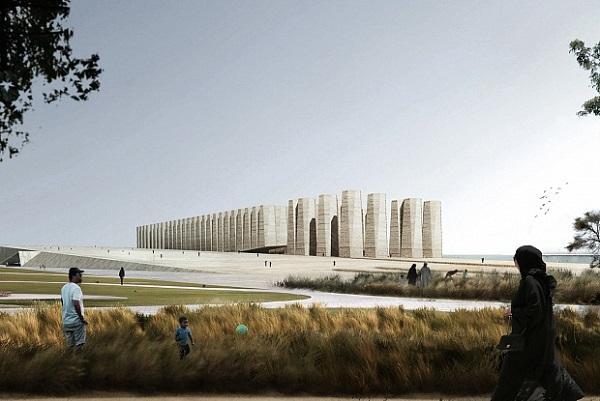 Чилійське архітектурне бюро перетворить млин на галерею в Катарі