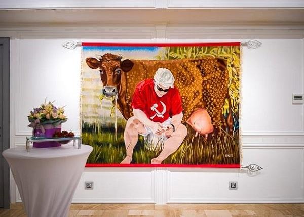 ArtUkraine Gallery представила проект Оксани Левчені-Константиновської