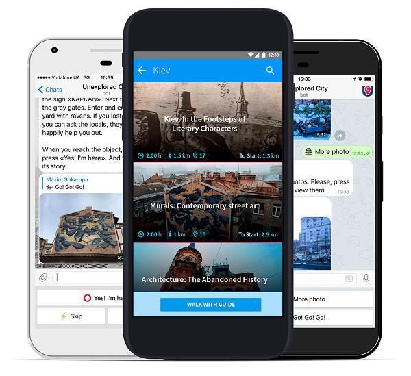 Новий туристичний додаток пропонує наново відкрити знайомі міста