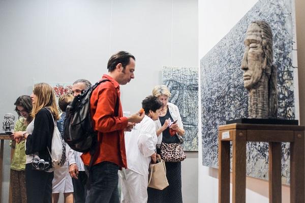 У Львові триває виставка живопису та скульптури Людмили Давиденко
