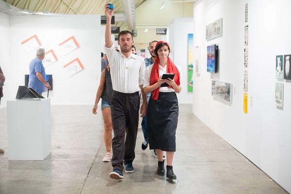 У Барселоні пройшла виставка українського перформансу