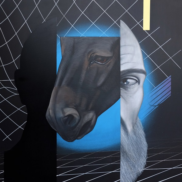 Voloshyn Gallery покаже живопис на межі іконопису та стріт-арту