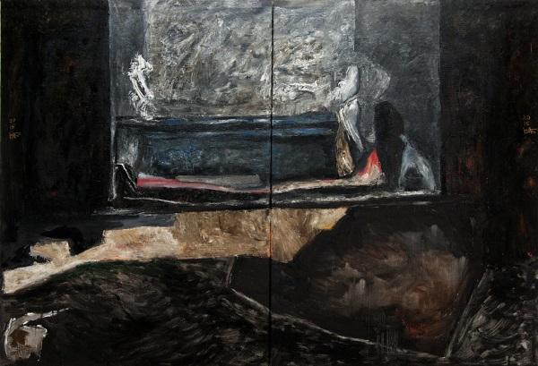 Карась Галерея представила виставку Василя Бажая «Бути чи не бути»