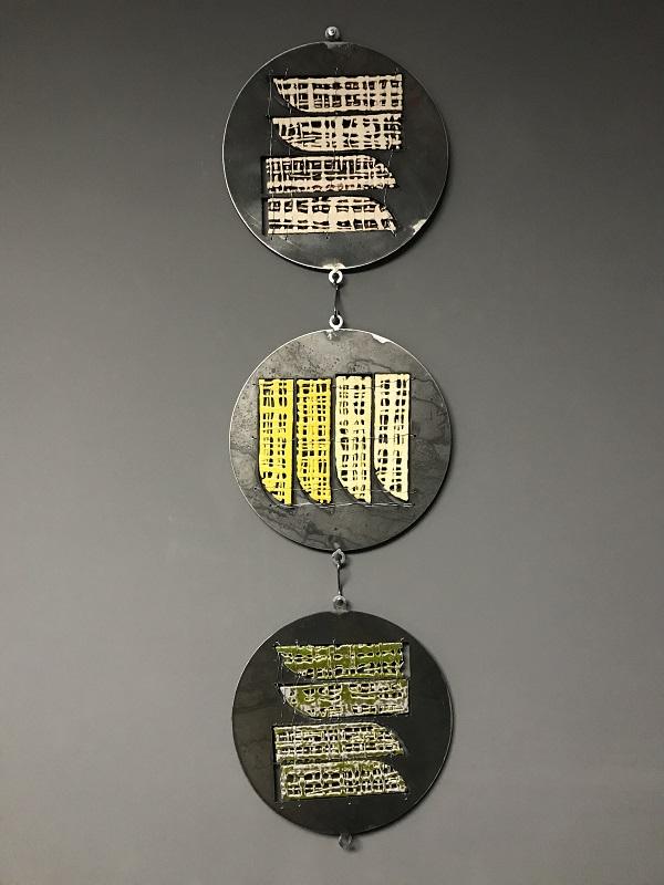 На виставці «Текстура» представили сучасні кераміку та текстиль