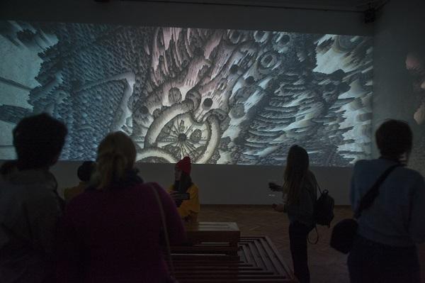 В НХМУ триває знакова виставка «Лабіринти Аксініна»