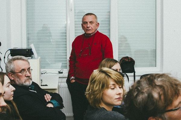 У Львові пройшла зустріч з видатним професором ЛНАМ Альфредом Максименком