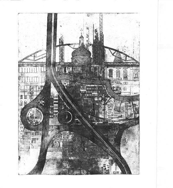 Nebo Art Gallery представить графічну серію про українські міста