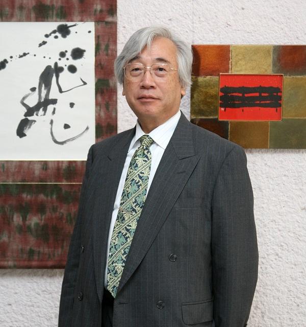 У Музеї Ханенків триває виставка японського каліграфа Рюсекі Морімото
