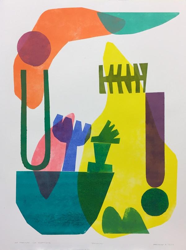 11 художників-графіків представили свої роботи в Nebo Art Gallery