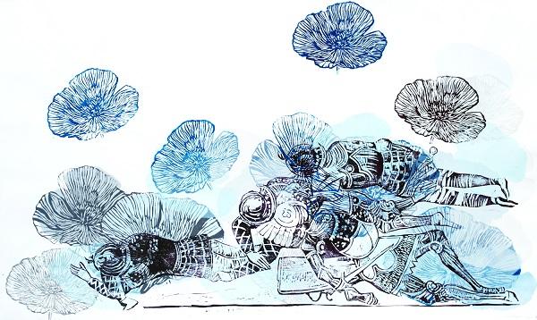 Я Галерея представить графічні твори чернівецької мисткині Ірини Каленик