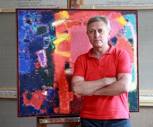 Виставка Петра Лебединця: колір як нескінченність