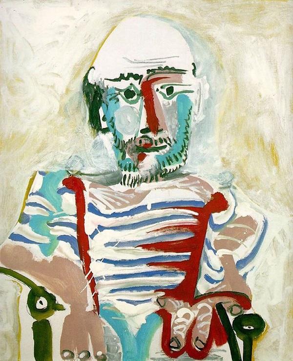 Еволюція автопортретів Пікассо (15-90 років)