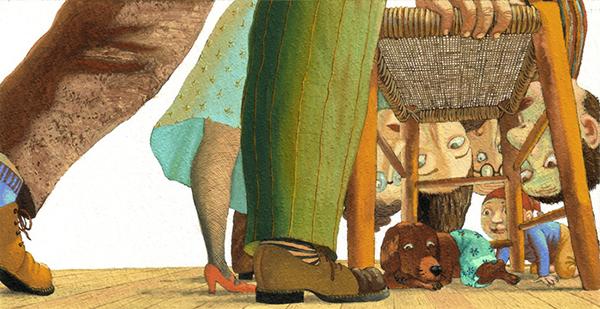 Иллюстрация в трех поколениях