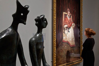 Exhibition at The Ashmolean brings together works by Francis Bacon and Henry Moore