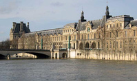 Louvre plans to evacuate works from Paris due to flooding risk